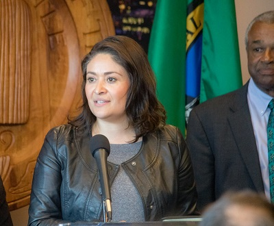 M. Lorena Gonzalez - Seattle City Council president