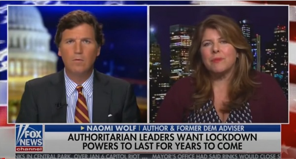 Naomi Wolf, Feminist Author and Former Clinton Advisor, Says US Becoming a Totalitarian State Before Our Eyes [VIDEO]